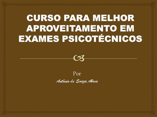 Curso Online de PSICOTÉCNICO