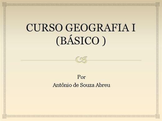 Curso Online de GEOGRAFIA BÁSICA