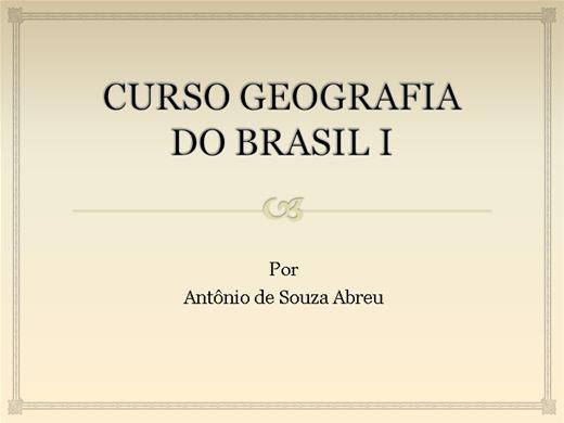 Curso Online de GEOGRAFIA I