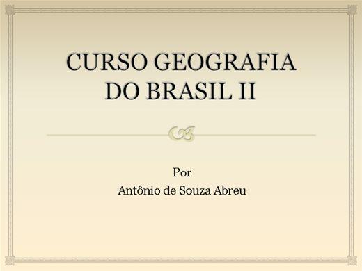 Curso Online de GEOGRAFIA II