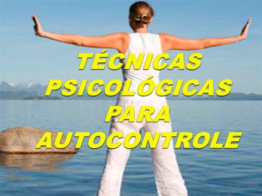 Curso Online de Técnicas Psicológicas para Autocontrole