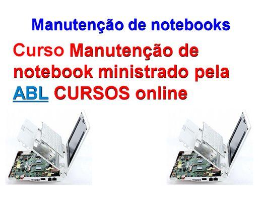 Curso Online de manutenção de notebook