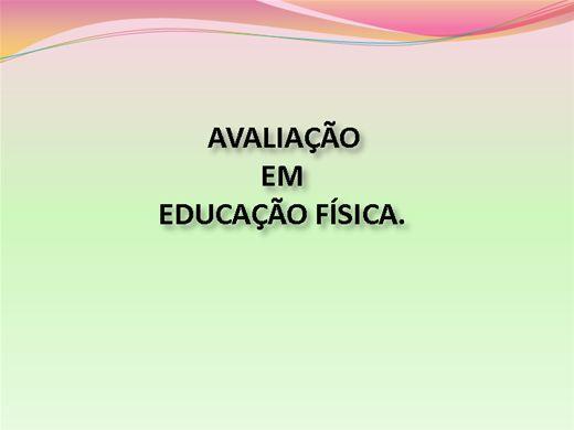 Curso Online de AVALIAÇÃO EM EDUCAÇÃO FÍSICA