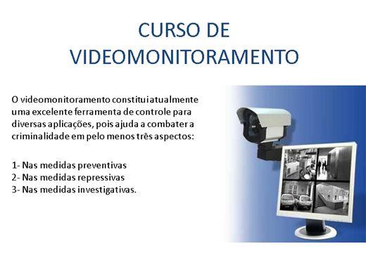 Curso Online de VIDEOMONITORAMENTO
