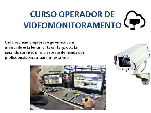 Curso Online de OPERADOR DE VIDEOMONITORAMENTO
