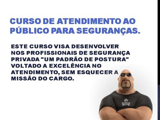Curso Online de ATENDIMENTO AO PÚBLICO PARA SEGURANÇAS