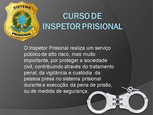 Curso Online de  INSPETOR PRISIONAL