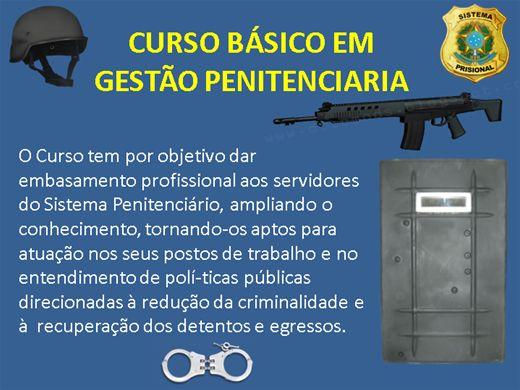Curso Online de BÁSICO EM GESTÃO PENITENCIARIA