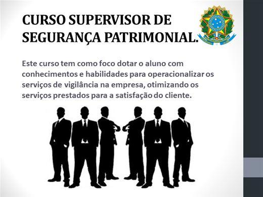 Curso Online de SUPERVISOR DE SEGURANÇA PATRIMONIAL