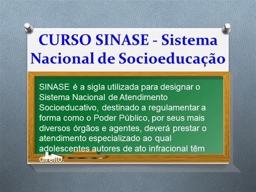Curso Online de SINASE - Sistema Nacional de Atendimento Socioeducativo