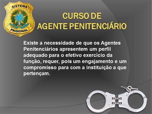 Curso Online de AGENTE PENITENCIÁRIO