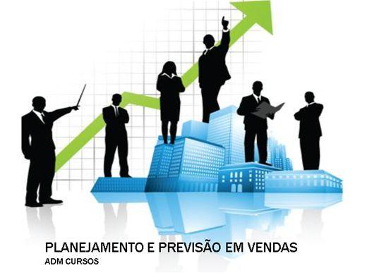 Curso Online de PLANEJAMENTO E PREVISÃO EM VENDAS - TÉCNICAS DE NEGOCIAÇÃO