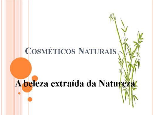 Curso Online de Cosméticos Naturais