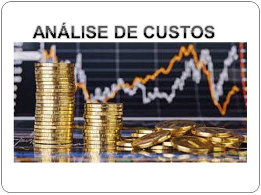 Curso Online de Análise de Custo