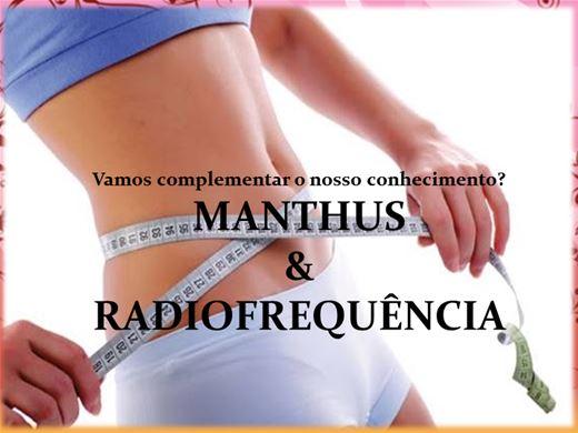 Curso Online de MANTHUS E RADIOFREQUÊNCIA NA ESTÉTICA