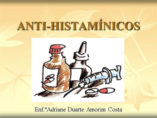 Curso Online de Cuidados com o uso dos Anti-Histamínicos