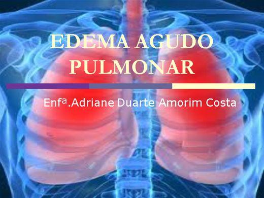 Curso Online de Edema Agudo Pulmonar