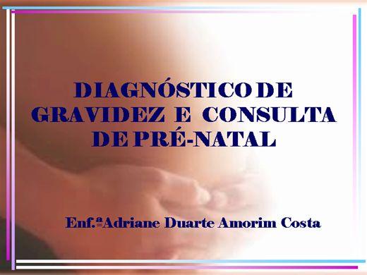 Curso Online de Diagnóstico de Gravidez e Consulta de Pré-Natal
