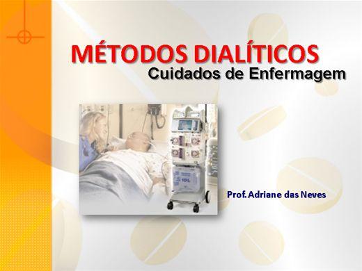 Curso Online de Enfermagem em nefrologia - Métodos Dialíticos