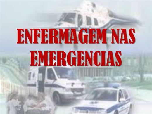Curso Online de Enfermagem em Emergencia