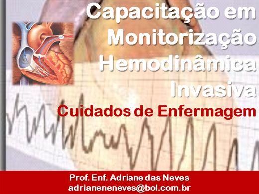 Curso Online de Enfermagem na Monitorização Hemodinâmica Invasiva