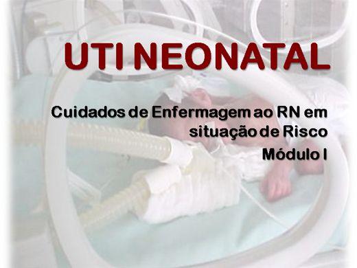Curso Online de UTI Neonatal - Cuidados de Enfermagem ao RN em Situação de Risco