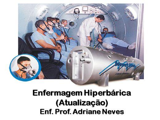 Curso Online de Atualização em  Enfermagem Hiperbárica