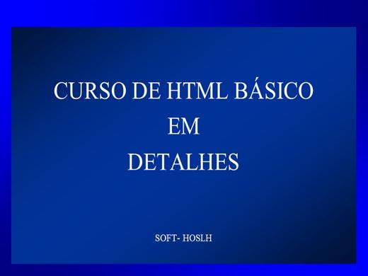 Curso Online de HTML BÁSICO