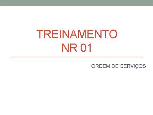 Curso Online de ORDEM DE SERVIÇOS CONFORME A NR 1 DA PORTARIA 3214/78 DO MTE