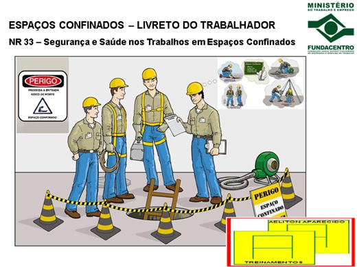 Curso Online de SEGURANÇA DO TRABALHO EM ESPAÇOS CONFINADOS