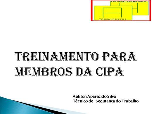 Curso Online de CURSO DE FORMAÇÃO DE CIPEIROS CONFORME NR 5