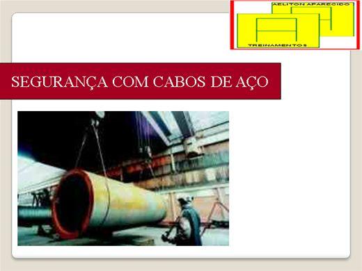 Curso Online de SEGURANÇA EM CABOS DE AÇO