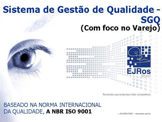 Curso Online de ISO9001 - GESTÃO DA QUALIDADE