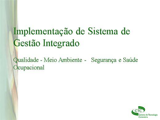 Curso Online de ESPECIALISTA EM TEC. DE SEGURANÇA DO TRABALHO - SISTEMA DE GESTÃO INTEGRADA