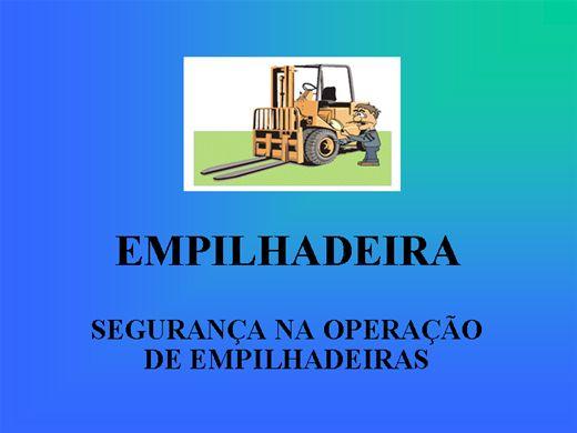 Curso Online de SEGURANÇA NA OPERAÇÃO DE EMPILHADEIRAS