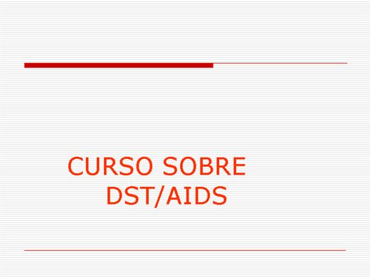 Curso Online de Curso: DST/AIDS