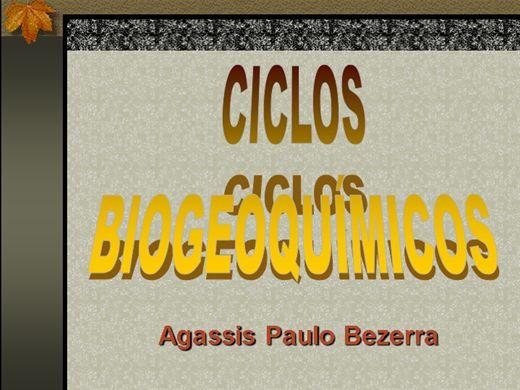 Curso Online de CICLOS BIGEOQUÍMICOS