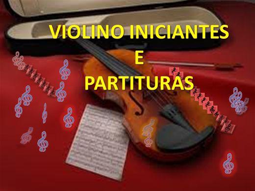 Curso Online de Violino Iniciantes e Partituras