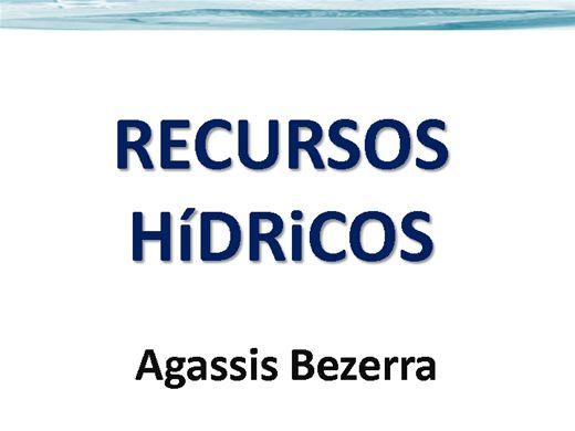 Curso Online de RECURSOS HÍDRICOS