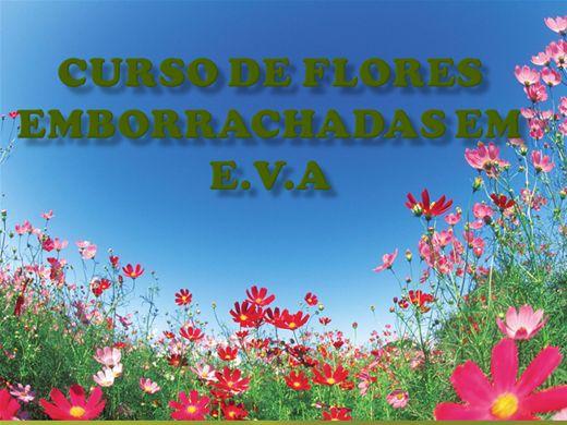 Curso Online de Flores em E.V.A