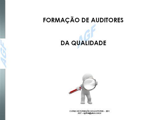Curso Online de Formação de Auditores