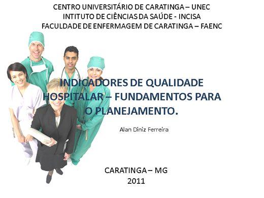Curso Online de Acreditação e Indicadores Hospitalar Instrumentos de Gestão para o Enfermeiro