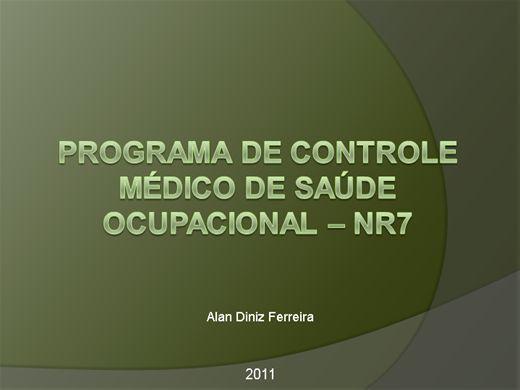 Curso Online de Capacitação em NR7 - Enfermagem do Trabalho