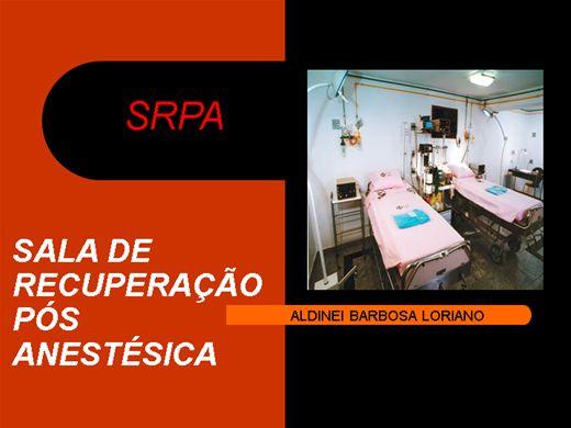 Curso Online de SRPA - SALA DE RECUPERAÇÃO PÓS-ANESTÉSICA