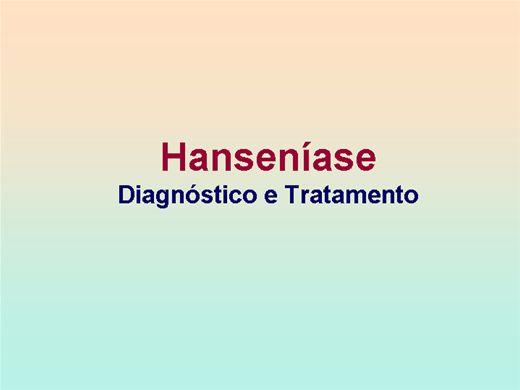 Curso Online de Hanseniase Diagnóstico tratamento e prevenção de incapacidades