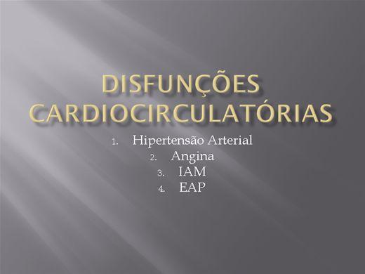 Curso Online de DISFUNÇÕES CARDIOCIRCULATÓRIAS