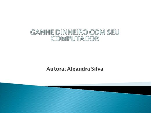 Curso Online de GANHE DINHEIRO COM SEU COMPUTADOR