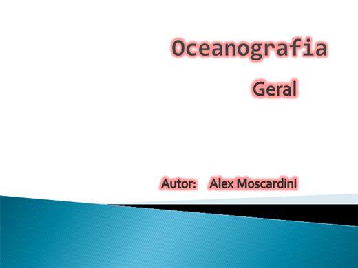 Curso Online de oceanografia geral