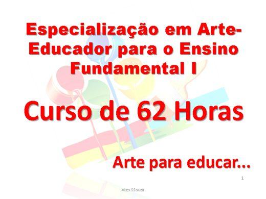 Curso Online de Especialização para o Ensino Fundamental I em Arte - Educador