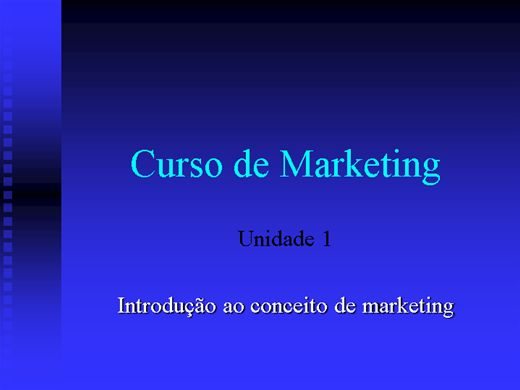 Curso Online de Marketing para Iniciantes